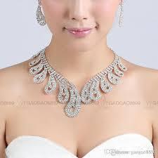 bridal jewelry 2017 2017 cheap shiny bridal jewelry wedding bridal rhinestone