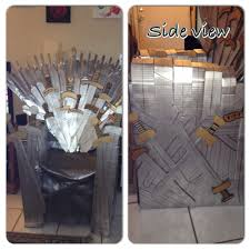 diy iron throne i may be crazy but i u0027ve started drawing plans