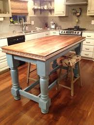 painted kitchen island with stained cabinets ideas colored islands