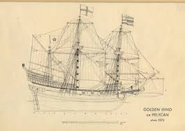 model ship plans free download golden hind 1575