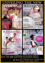 wedding planner magazine celebrate with wedding planner magazine at their new look unveil