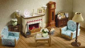 Drawing Room Set By Sylvanian Families  Regency Hotel - Sylvanian families living room set