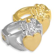 cremation remains celtic claddagh cremation ring memorial jewelry for cremated