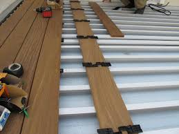 Waterproof Deck Flooring Options by Dryjoistez Deck Drainage System Structural Deck Framing