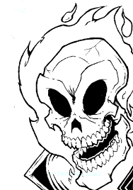 images of pin ghost rider drawings sc