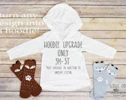 baby fox hoodie etsy