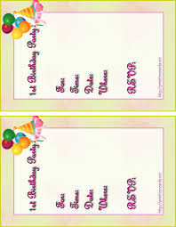 excellent free birthday invitation cards for kids 59 for wedding