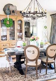 mixed dining room chairs tidbits u0026twine spring dining room tour 2016 tidbits u0026twine