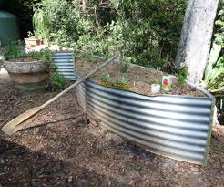 Vegetable Beds Vegetable Gardens From Old Water Tank 8 Steps With Pictures