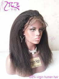 headband wigs kinky straight lace wigs human hair 130 brazilian remy hair wigs