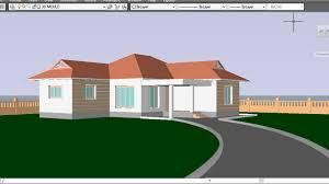 Cad House by Autocad 3d House Part10 Pathway And Perspective View 3d Pathway