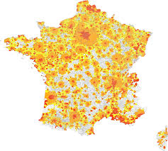 Map Of France With Cities by Urban Area France Wikipedia