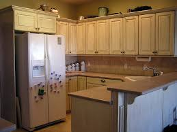Antique Painted Kitchen Cabinets How To Antique White Kitchen Cabinets All About House Design