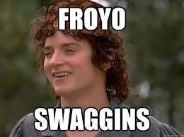 Frodo Meme - froyo swaggins scumbag frodo quickmeme
