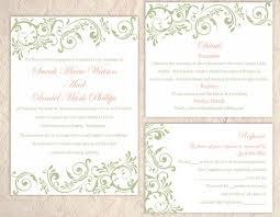 Diy Wedding Invitation Templates 26 Diy Wedding Invitation Template Vizio Wedding