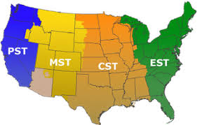 us time zone using area code click on map to learn about best times to call in usa with all