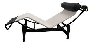 le corbusier designed lc4 chaise longue chairish