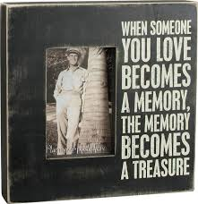 remembrance picture frame memorial frames and framed in memory gifts