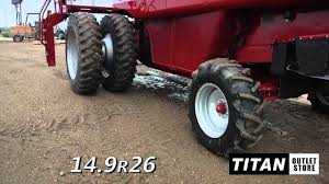 case ih 2188 duals hd rear axle straw spreader combine sold on