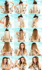 how to ambray hair how to hack ombre hair without actually coloring it brit co