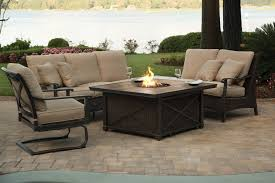Patio Fire Pit Table Patio Fire Pit Set Decorating Home Ideas Superb Lovely Home
