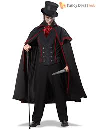 vire costume deluxe mens the ripper fancy dress costume