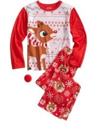 on sale now 50 briefly stated rudolph pajama set big