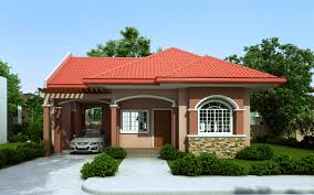 one story house designs house design 2015005 is a one storey house design with a
