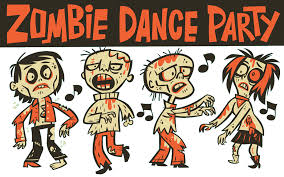 halloween dance clip art zombie dance party the lackawanna country children u0027s library