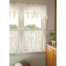 Valance And Curtains Window Scarves U0026 Valances Window Treatments The Home Depot
