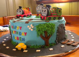 thomas and friends cake decorations with thomas percy and james