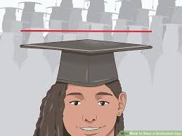 cheap graduation caps 3 ways to wear a graduation cap wikihow