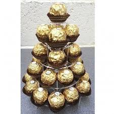 round ferrero rocher display stand supercoolcreations for