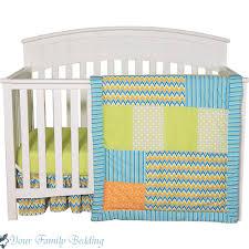Baby Boy Chevron Crib Bedding Blue And Orange Crib Bedding Baby Boy Chevron Crib Bedding Sets