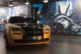 Rolls Royce Ghost Gold Edition By Ms Motors Youtube