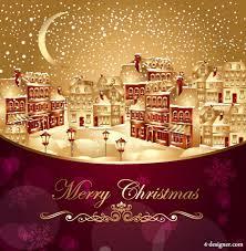 beautiful christmas cards 4 designer beautiful santa greeting card 04 vector material