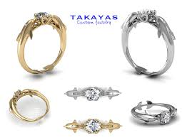 dolphin engagement ring dolphin collection takayas custom jewelry