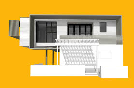 cantilevered deck up a cantilevered residential addition creates an open beach deck