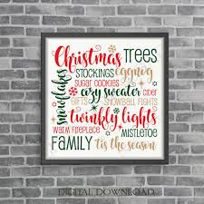 ttees meaning merry christmas words holiday stencil clipart svg clipart