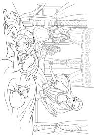 barbie and the diamond castle coloring pages nvsi
