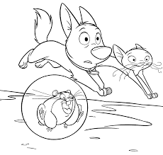 running bolt free printable cartoon coloring pages cartoon