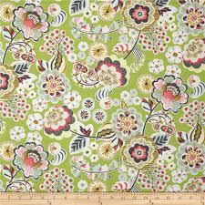 blend natural wonder deco park green discount designer fabric
