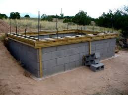 simple design how to build a concrete block wall foundation with