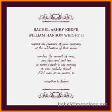 10 formal wedding invitation letter commerce invoice