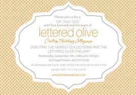 trunk show invitation template premium invitation template