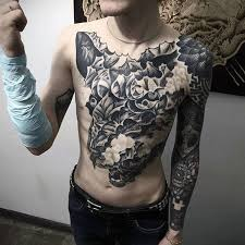 60 badass chest tattoos for manly ink design ideas