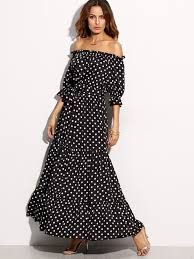 quickie adam lippes for target polka dot off the shoulder dress link up fashion should be fun