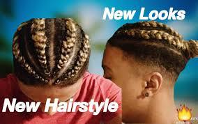 man braid bun haircut update youtube