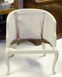 Reupholster Armchair Tutorial Tufted Cane Chair Tutorial Putting It Back Together The Golden