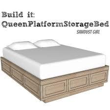 best 25 bed frame storage ideas on pinterest diy within platform